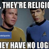 HOW TO DEBUNK THE MYTH THAT RELIGIOUS PEOPLE ARE ILLOGICAL